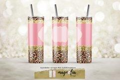 leopard glitter tumbler wrap png 20 oz tumbler bundle Product Image 2