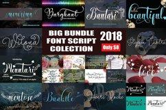 BIG BUNDLE FONT SCRIPT COLECTION Product Image 1