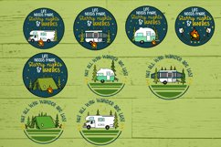 Roosell's Camping SVG Bundle Product Image 4