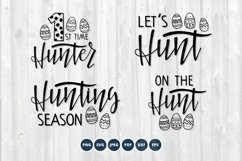Easter SVG Bundle. Hunting Season SVG set. Easter egg SVG Product Image 1