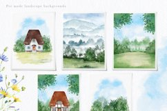 Charming Rustic Watercolors Product Image 4
