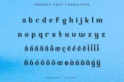 Aropuck Font Product Image 6