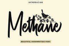 Web Font Methane - Beautiful Handwritten Font Product Image 1