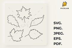 Leaves - Fall bundle - Fall leaves - Leaves bundle Product Image 2