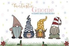 Fantastic Gnome 58 Element Brush Stamp Procreate. Brushes Product Image 1