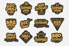 BBQ bundle. Food quotes. Design sublimation Product Image 4