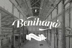 Benihana Typeface + Logo Vintage Product Image 1