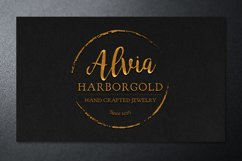 Jewelry Store Business Card Photoshop Template Product Image 5