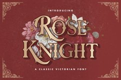 Rose Knight - Victorian Decorative Font Product Image 1