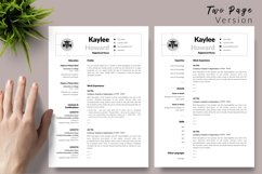 Nurse Resume CV Template for Word & Pages Kaylee Howard Product Image 3