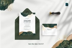Tropical Abstract Wedding Suite Product Image 3