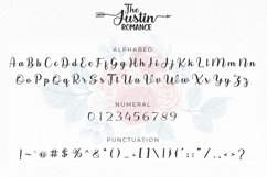 The Justin Romance - Font Duo plus Extras Product Image 6