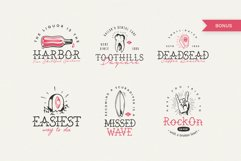 The Bearded Sailor - Tattoo Font / Line Font / Logo Font Product Image 3