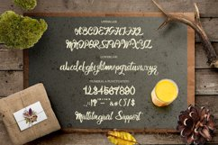 Outline Bold Script - Bro Rintto Font Product Image 2