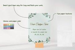Postcard Greeting Card Mockup Product Image 2