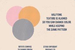 Procreate Halftone Brushes Product Image 4