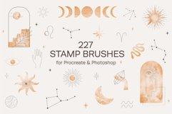 Celestial Stamp Brushes Procreate, Photoshop Product Image 1
