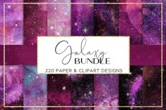 Galaxy paper BUNDLE digital paper pattern Product Image 5