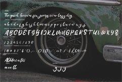 Melage | Retro Rogh Script Font Product Image 6