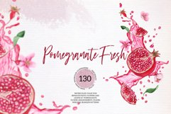 Pomegranate Fresh Watercolor Set Product Image 1