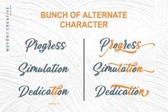 Rauzatul Script | Modern Stylish Font Product Image 3