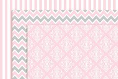 Girl Baptism Digital Papers and clipart Product Image 2
