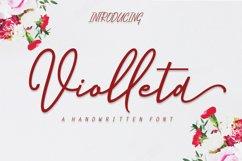 Violleta Script Product Image 1