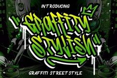 Graffity Stylish Graffiti Street Style Product Image 1