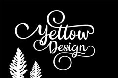 The Billow | A handwritten sweet font Product Image 3