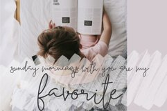 Moraine Script Font in Two Styles Product Image 2