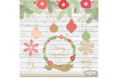 Vintage color christmas design Product Image 3