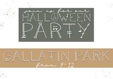 Skeleton - A Fun Halloween Font Product Image 5