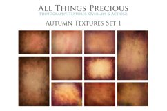 10 Fine Art AUTUMN Textures SET 1 Product Image 1