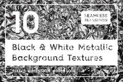 Black & White Metallic Textures Product Image 1