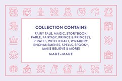 Line Icons - Fairy Tale Product Image 2