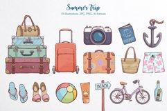 Summer time. Illustration pack. Product Image 3