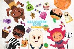 Halloween Boys Clipart, halloween boys clipart Product Image 1
