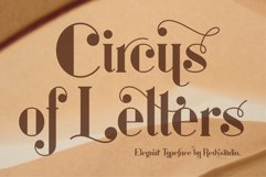 Circus of Letters Product Image 1