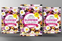 Summer Sales Flyer Template Product Image 1
