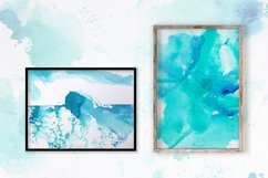 6 Watercolor paper seamless Patterns Product Image 2