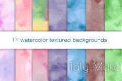 Abstract watercolor gradient texture backgrounds Product Image 1