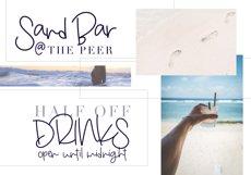 Beach Bum - Handwritten Script Font Product Image 5