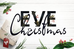 Christmas Eve - font duo SVG and script Product Image 1