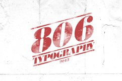 806 Typography Product Image 1