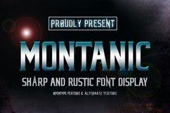 MONTANIC FONT DISPLAY Product Image 1