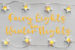 Glimmering Sleigh - Handwritten Script Font Product Image 3