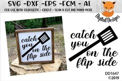 Catch You On The Flip Side Kitchen SVG Product Image 1