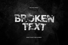 Broken Text Photoshop Effect Product Image 1