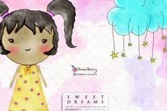 Sweet Dreams Baby Girls Nursery Clip Art Pack xo Product Image 4