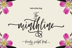 The Minthline Script Product Image 1